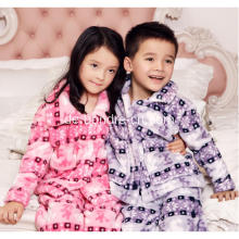 Kids Soft Touch Fleece-Pyjamas Anzug
